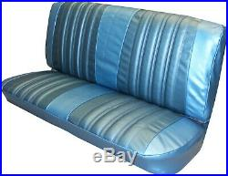 66 Impala 4 Door Hardtop/coupe Bench Seat Cover Upholstery Set Front-rear