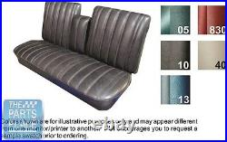66 Skylark / GS / Special Black Front Bench With Armrest Seat Cover Conv Rear PUI