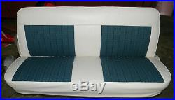 67-72 Chevy Truck Houndstooth Upholstery Bench Seat Cover