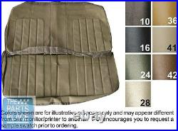 70 Skylark 350 / GS / 455 Sandalwood Bench With Armrest Seat Cover Conv Rear PUI