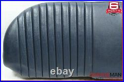 79-91 Mercedes W126 300SD 560SEL Rear Lower Bottom Bench Seat Cushion Cover Blue