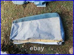 86-92 Jeep Comanche Bench Seat Cover Light Blue Oem