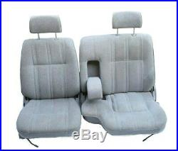 89-95 Toyota SR5 Pickup Truck 60-40 Bench Bucket Seats Seat OEM Gray Trim Cloth