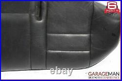 91-95 Mercedes W124 E320 Sedan Rear Lower Bottom Bench Seat Cushion Cover Black