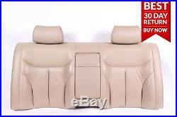 92-99 Mercedes W140 500SEL S500 Rear Top Upper Seat Cushion Cover Beige A93 OEM