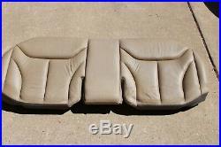 92-99 Mercedes W140 S320 Rear Seat Bench Lower Bottom Seat Cushion Tan