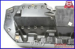 92-99 Mercedes W140 S320 S500 Rear Seat Bench Lower Bottom Seat Cushion Gray OEM
