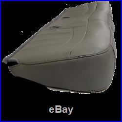 98 03 Ford F150, F250, Work Truck Pickup XLT Bottom Bench Seat cover Vinyl GRAY