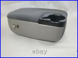 98-04 Ford Ranger Mazda B Series 2 Bolt Center Console Arm Rest Cup Holder Gray