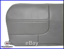 99 00 01 Ford F350 XL Work Truck -Bottom Bench Seat Replacement Vinyl Cover Gray