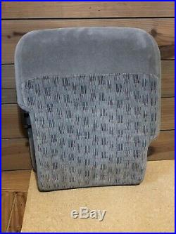 99-10 Ford F250 F350 Super Duty Center Jumpseat Console Armrest Grey Oem