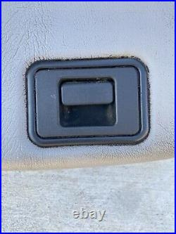 99-10 Ford F250 F350 Super Duty Center Jumpseat Console LID Armrest Gray Read