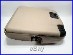 99-10 Ford F250 F350 Super Duty Center Jumpseat Console LID Armrest Tan Oem