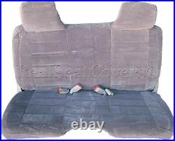 A25 DG Compact Truck XCab RCab Small Notched Cushion Bench Charcoal Seat Cover