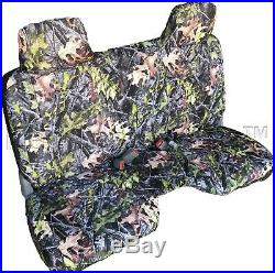 A27 CM Compact Truck RCab XCab Large Notched Cushion Bench Camo Seat Cover