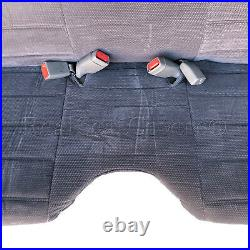 A27 DG RCab XCab Large Notched Cushion Front Bench Charcoal Seat Cover