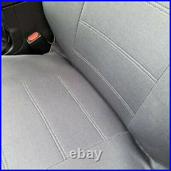 A57 DG Waterproof Truck XCab RCab Front 60/40 Split Bench Dark Gray Seat Cover