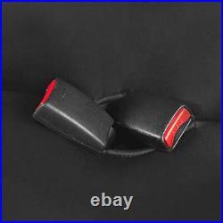 AquaShield Black Waterproof Rear Bench Car Seat Cover Neoprene Padded Back Seat