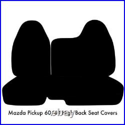 BG 98 2003 Front High Back 60/40 Split Bench Seat Cover for Mazda B-Series A77