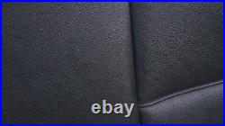 BMW 3 Series E90 Black Leather Schwarz Cover Backrest Back Rear Seat Couch