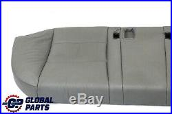 BMW 5 Series E60 Grey Leather Interior Rear Seat Couch Bench Base Cover