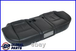BMW 7 Series E65 Rear Seat Bench Base Couch Seat Cover Black Leather Pearl