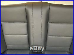BMW E30 Cabriolet Rest Cover Bench Leather Interior Black Rear Seat M3 Seats