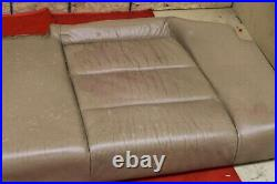BMW E36 318 325 328 M3 Rear Back Lower Seat Cushion Leather Cover Coupe Tan OEM