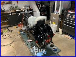 BMW R50/2 R60/2 R69S R50S narrow bench seat plus custom sheepskin cover 1955-69