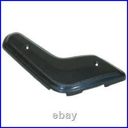 Bench Seat End Cap Cover for 1968-69 Charger Coronet Belvedere 2 Piece Black