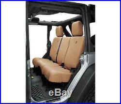 Bestop 29284-04 Tan Rear Bench Seat Cover for Jeep Wrangler JK/Unlimited JKU
