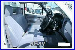 Black Fur Bench Seat Cover Fit Toyota Hilux 1997 2004