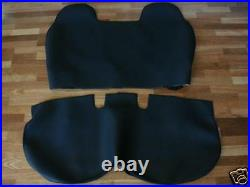 Black Velour Seat Cover Fit Toyota Hilux Bench Seat, 1990 1994