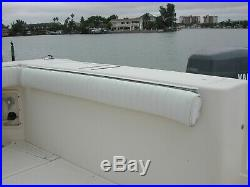 Boat Retractable Folding Transom Bench Seat, like new, 53 inch long by 12 inch