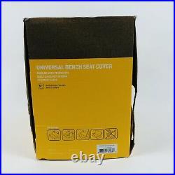 Carhartt Universal Bench Seat Cover, Tan NEW Open Box