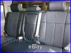 Clazzio Synthetic Leather Seat Cover (full Set) 2013-2018 Dodge Ram Crew Cab