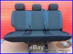 Cover for Bench rear triple seat VW T5 T6 Transporter