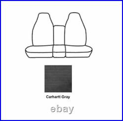 Covercraft SSC3355CAGY Carhartt Gravel Front Row Bench Seat Cover for F-250 Crew
