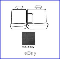 Covercraft SSC8375CAGY Carhartt Gravel 2nd Row Bench Seat Cover for Sierra 1500