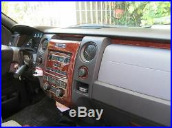 Dash Kit Trim for Ford F-150 09-12 with bench seat, witho navigation Interior
