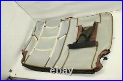 ESCALADE LEATHER 2nd Row 40/60 Bench Top Seat Cover Set Brown Vecchio OEM 15-17