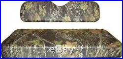 EZGO Golf Car Cart 1994-up Bench Seat Covers Mossy Oak Breakup Camo Color
