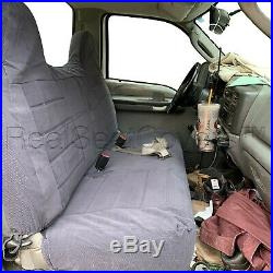 F23 DG F-Series Regular Super Cab Front or Rear Solid Bench Seat Cover for Ford