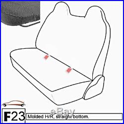 F23 DG Ford F-Series Regular or Super Cab Front or Rear Solid Bench Seat Cover
