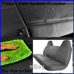 F23 PUBK Ford F-Series Regular or Super Cab Front or Rear Solid Bench Seat Cover