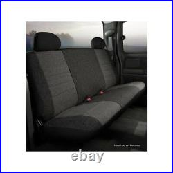 FIA OE39-2 CHARC Seat Cover Tweed Frt Bench Seat For 1995-2001 Dodge Ram 1500