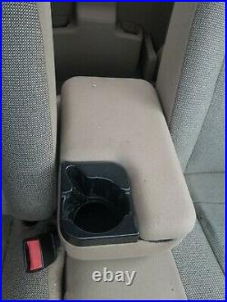 FORD RANGER MAZDA B SERIES 2 BOLT CENTER CONSOLE ARM REST CUP HOLDER tan 98-04