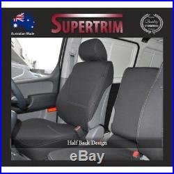 FRONT Bucket + Bench Seat Cover Fit Hyundai ILoad TQ-V 08-ON Neoprene Waterproof