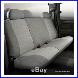 Fia OE39-2 GRAY Front Bench Seat Cover for 95-01 F-150/F-250/Ram 1500/2500/3500