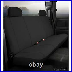 Fia SP82-40 BLACK Rear Black SP Series Bench Seat Cover for Ram 1500/2500/3500